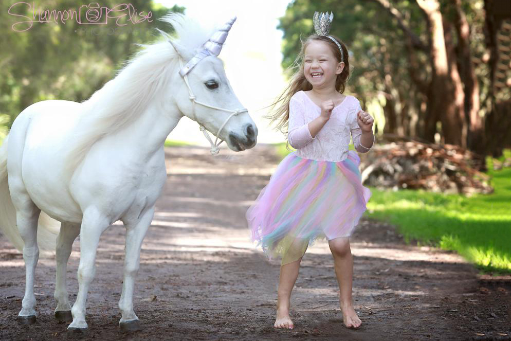 Girl And Pony Running Together