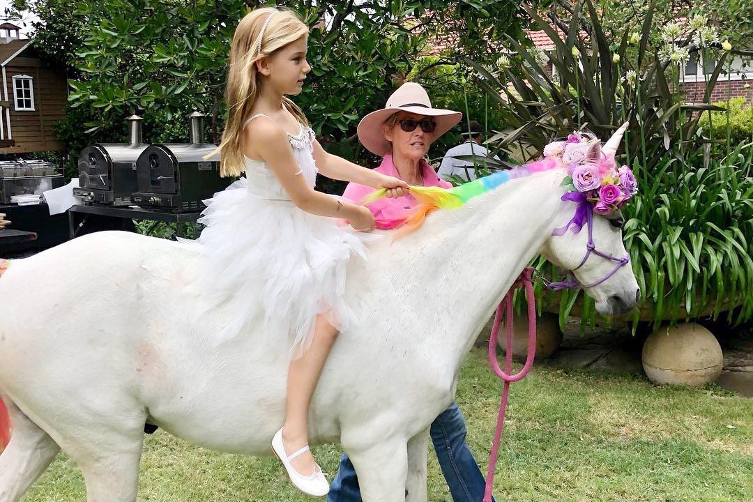 Rainbow Unicorn Pony